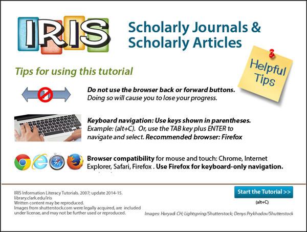 Peer-Reviewed, Scholarly Journals - NUTR 101 - Nutrition (Hayden