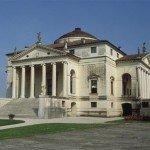 Villa Rotonda (Villa Almerico-Capra), near Vicenza: exterior, view from NW., ca. 1566-1569
