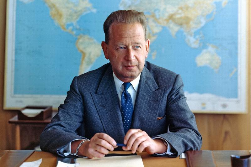Portrait Of Dag Hammarskjld