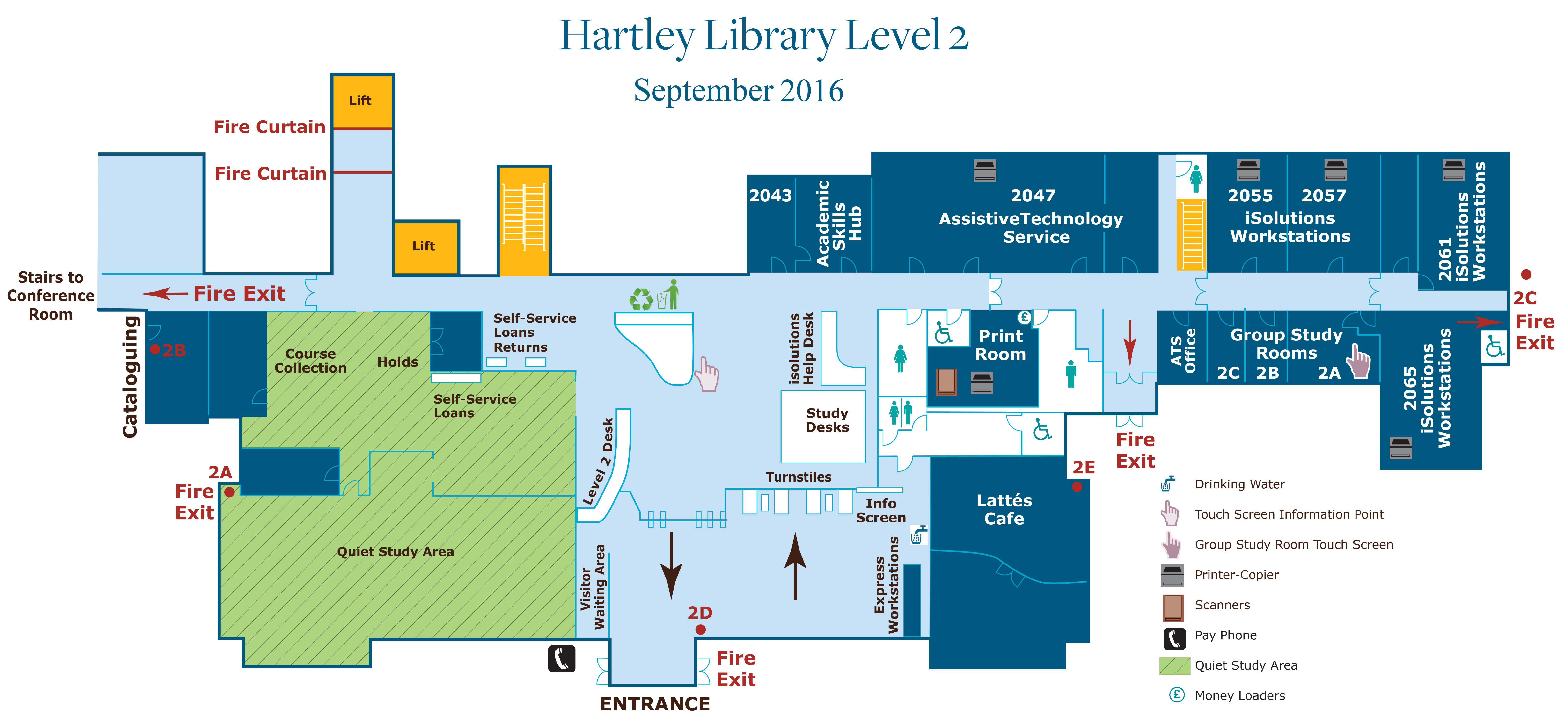floor plans hartley library libguides southampton at