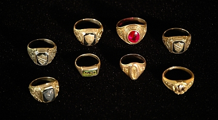 Meredith College class rings