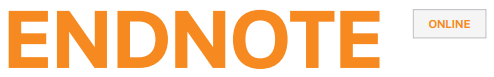 EndNote Online logo; links to Miami's access to EndNote