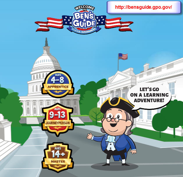 Ben's Guide to the U.S. Government (Government Publishing Office)