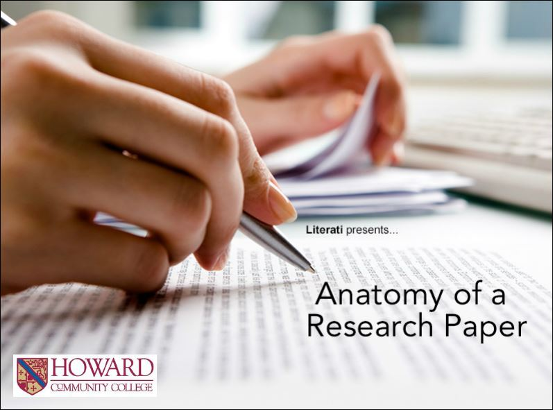 Screenshot of Literati Anatomy of a Research Paper video.