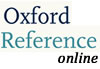 Oxford Reference database