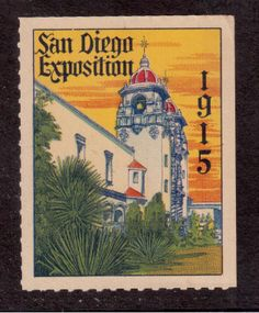 San Diego Exposition 1915 Picture
