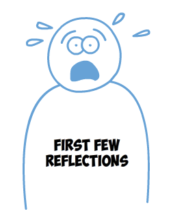 First few reflections