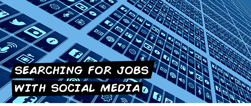 Searching for jobs with social media
