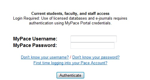 STEP 5: Authentication
