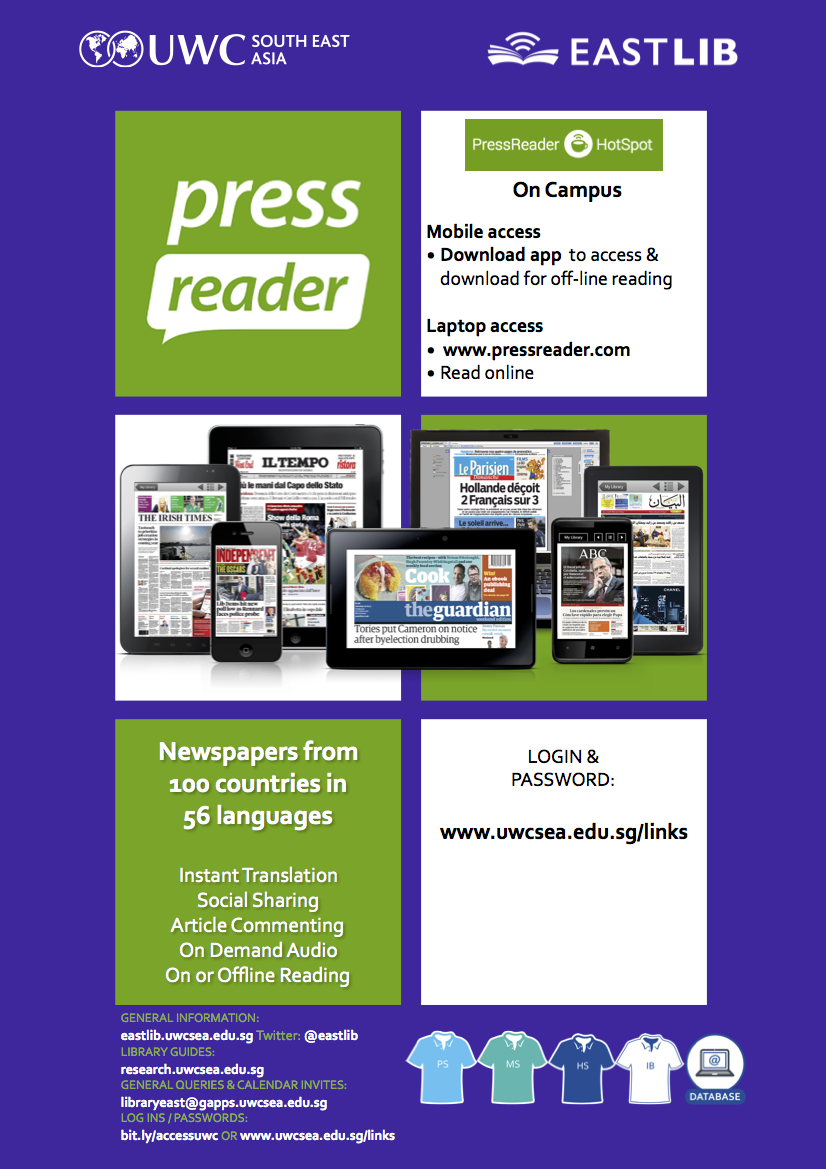 Newspapers and Magazines - Ebooks@East - LibGuides at United World