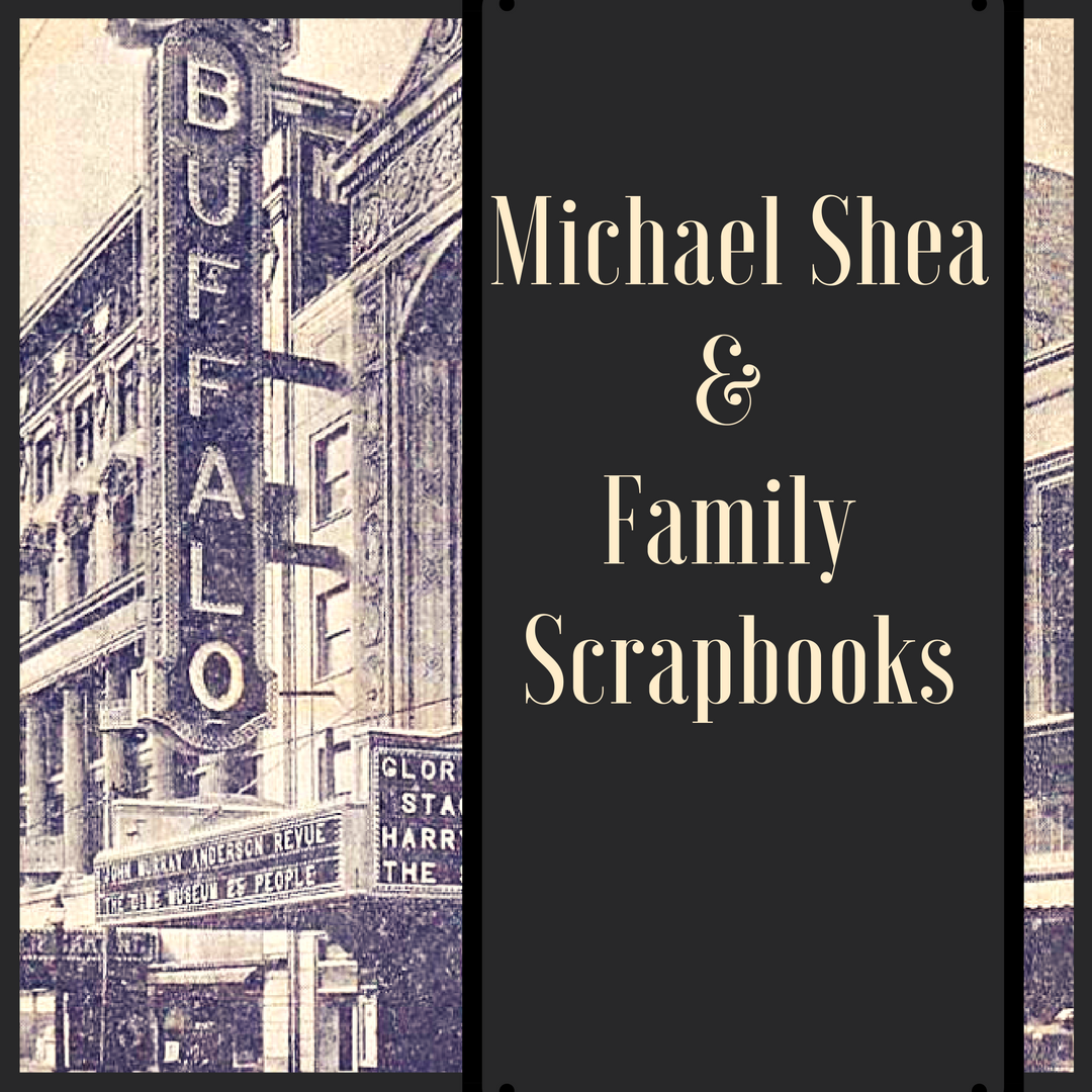 Michael Shea and Family Scrapbooks