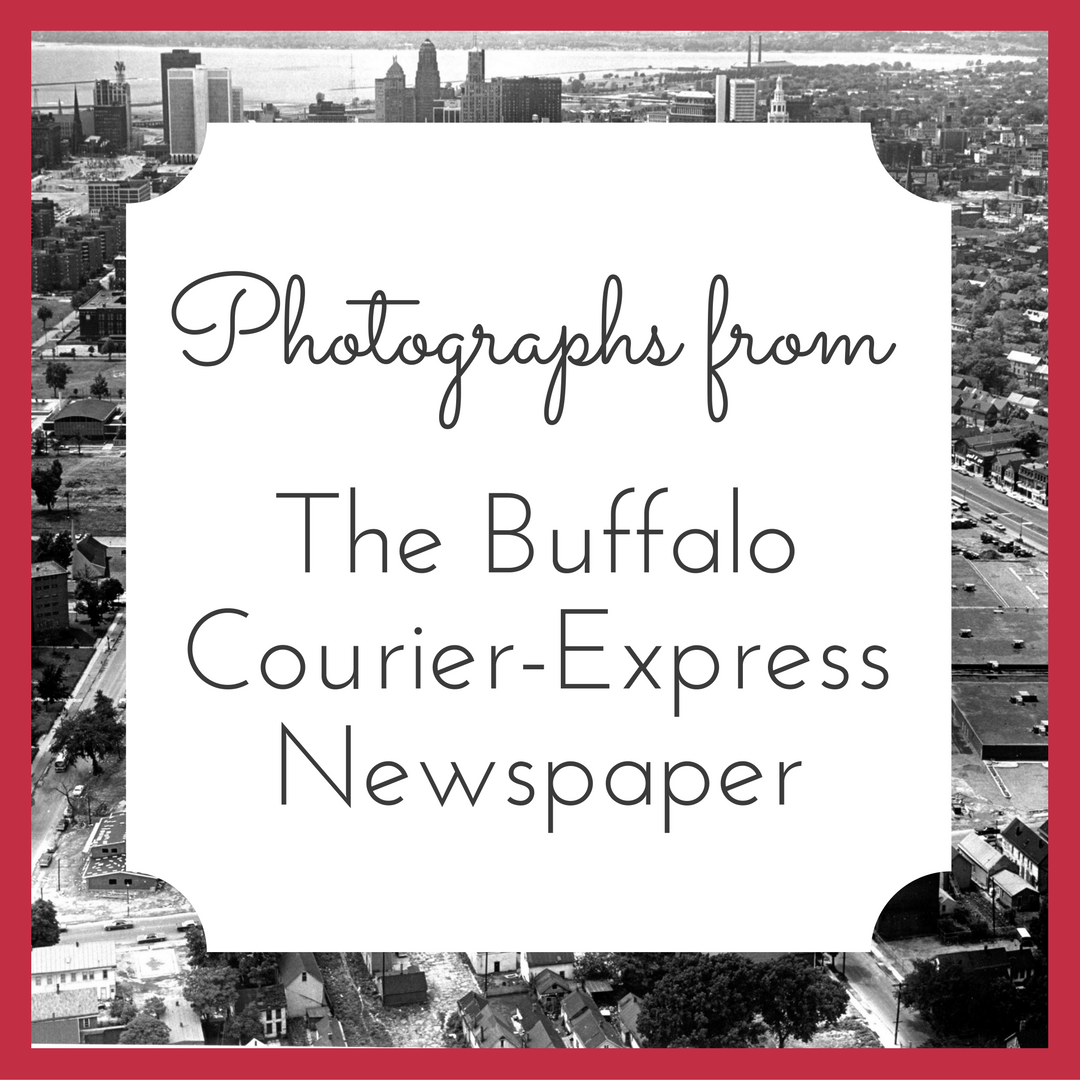 Photographs from the Courier-Express Newspaper