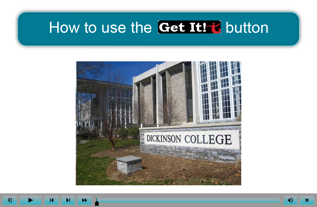 How to Use the Get It Button