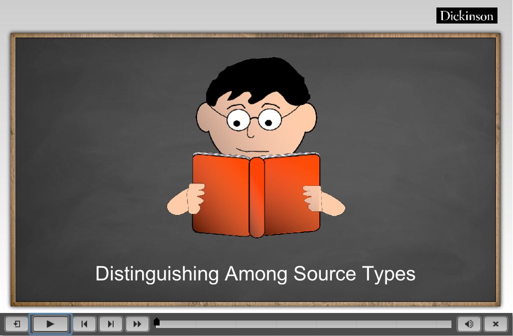 Distinguishing Among Source Types
