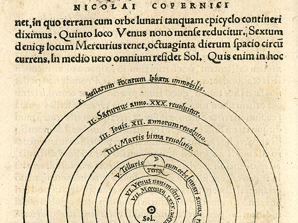 page of Copernicus volume