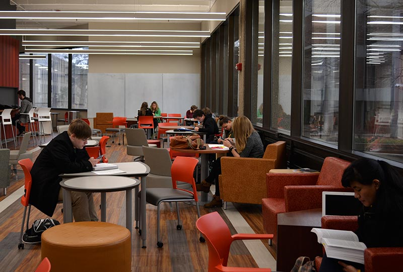 new open group study area