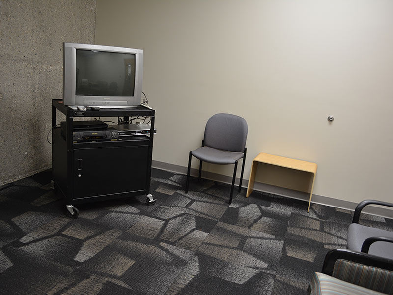 media viewing room