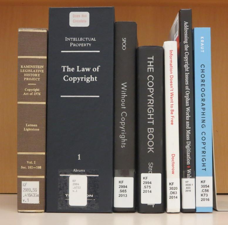 copyright books