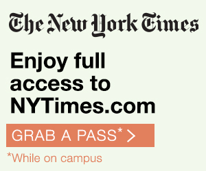 Sign up for free New York Times access