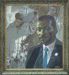 MLK portrait at Orchard Ridge Campus King Library