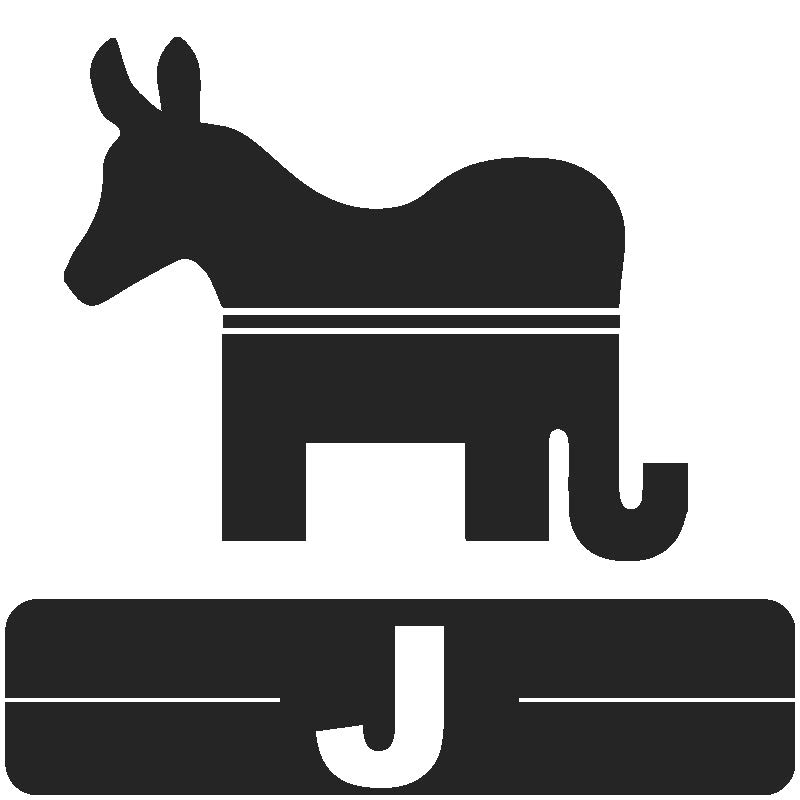Library Icon J for Political Science