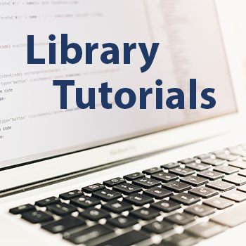 Library Tutorial word cloud icon