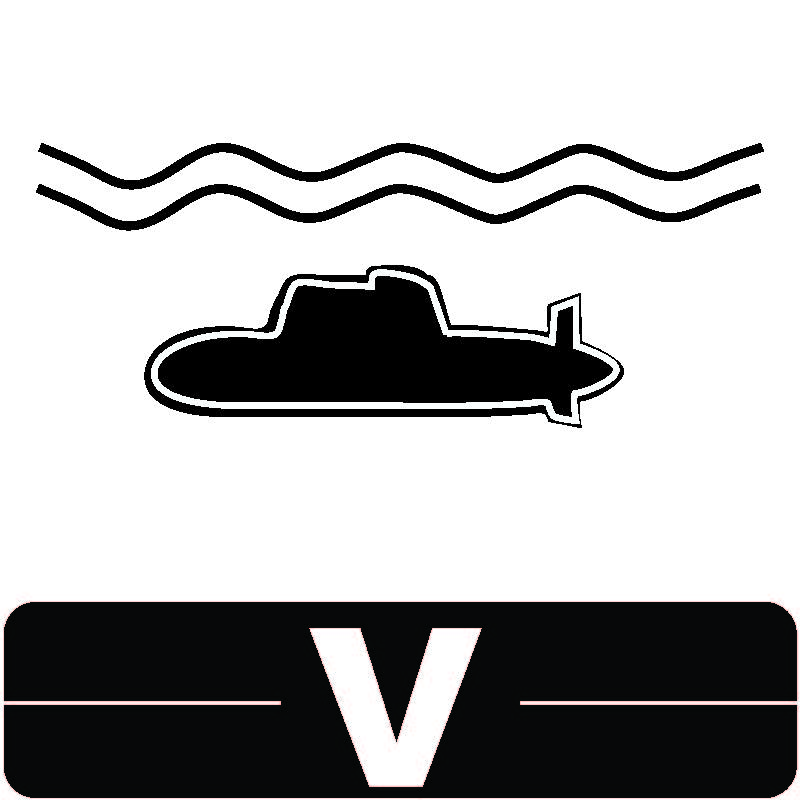 Library Icon V for Naval Science