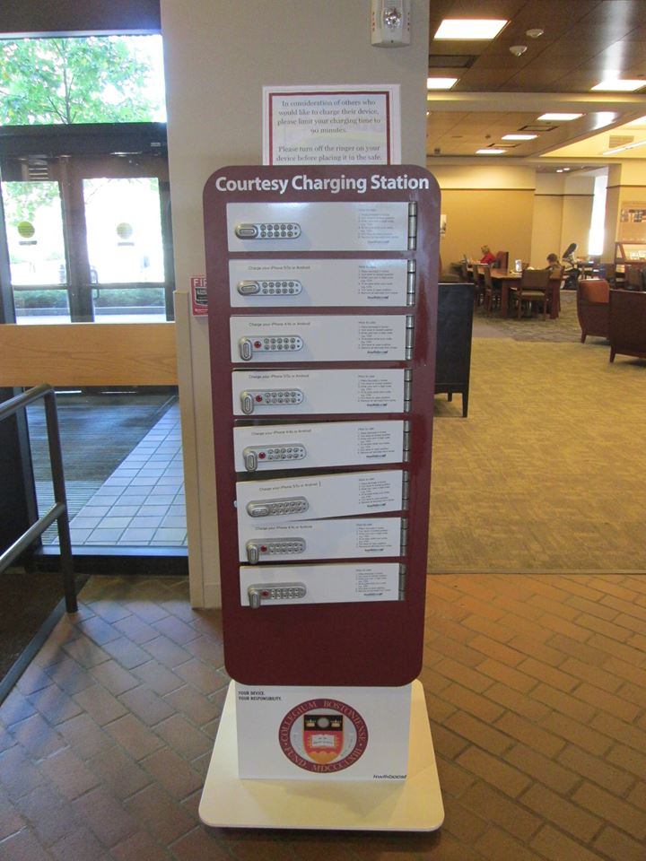 Phone Charging Station O Neill Library Libraries At