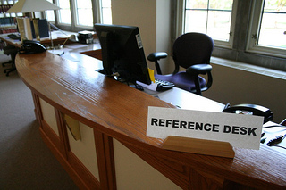 Seymour Library Reference Desk