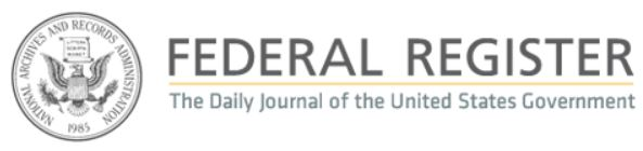 Federal Register.gov