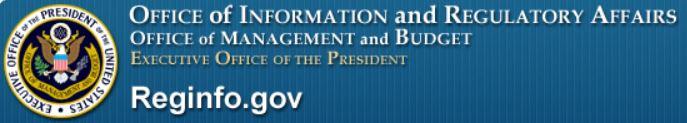 Reginfo.gov