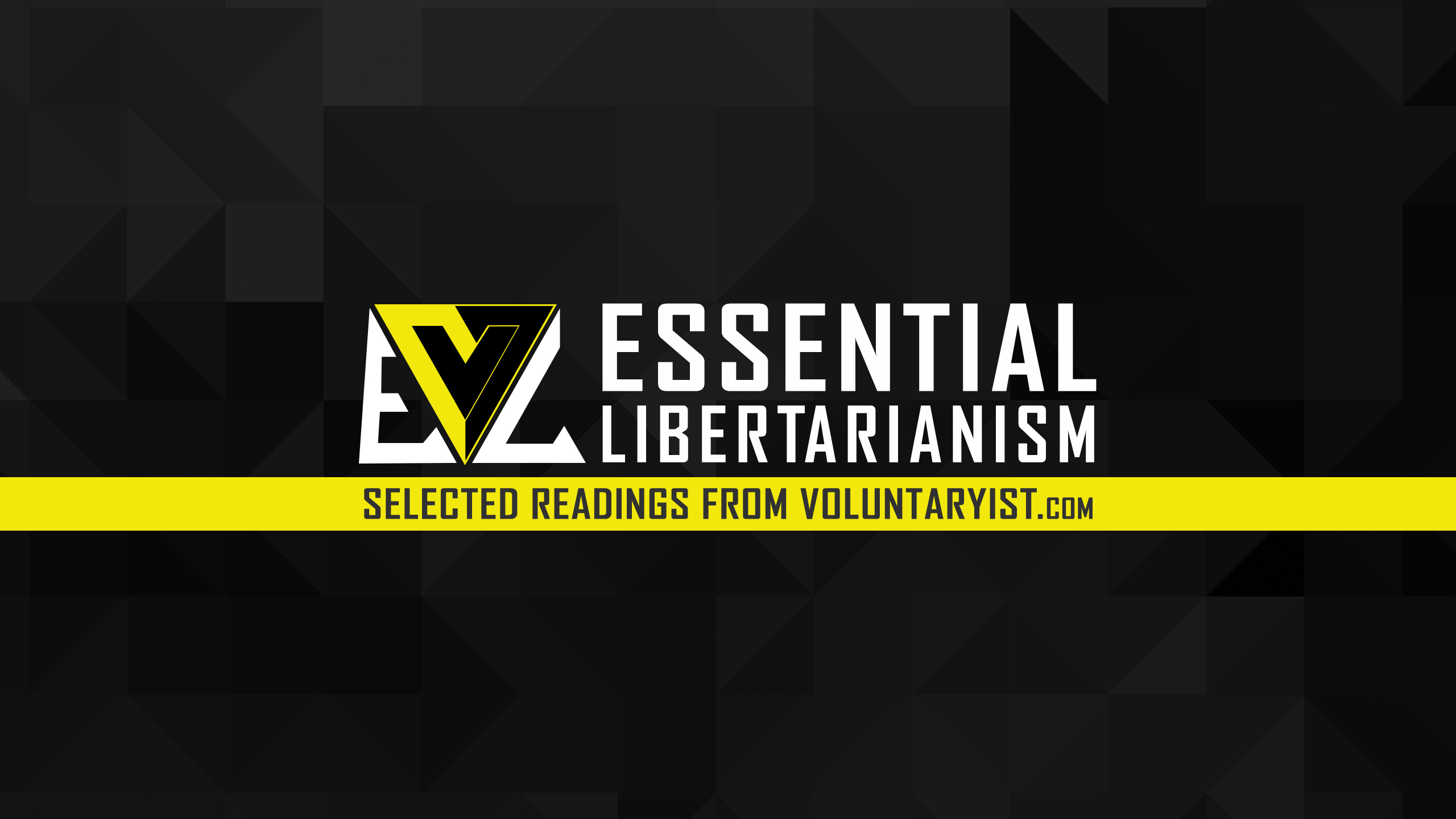 Essential Libertarianism – The Problem with Trading