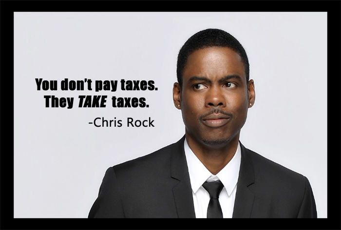 Chris Rock taxes