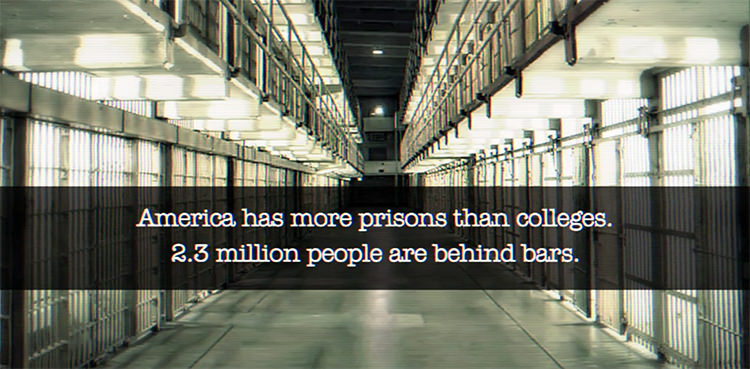 more prisons than colleges
