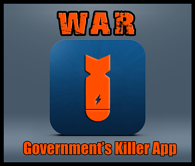War - government's killer app