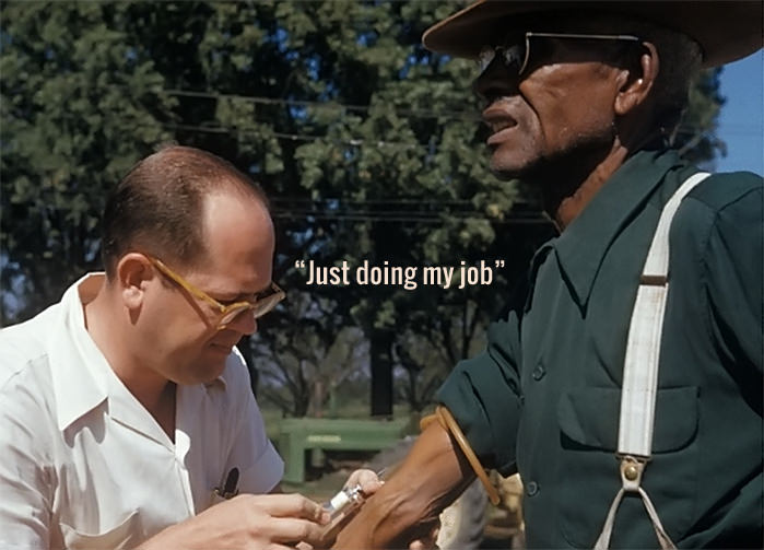 Tuskegee-just doing my job