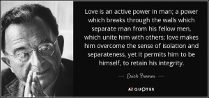 fromm-love an active power