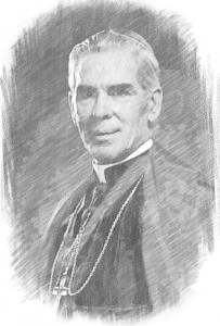 Fulton Sheen Sketch