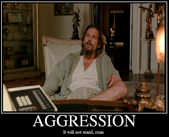 In Praise of Aggression