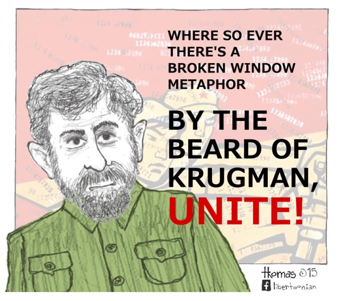 Krugmanipulation! (3.4.15)