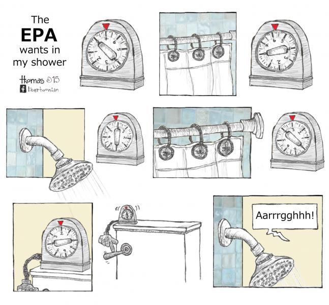 The EPA Wants in My Shower (3.22.15)