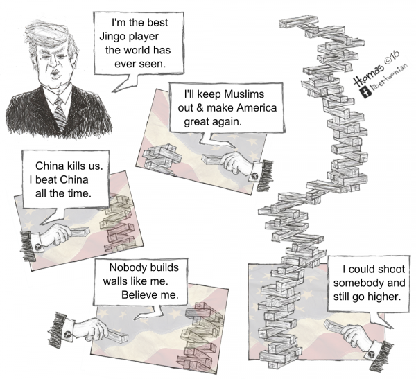 Trump Tower of Babble (1.25.16)