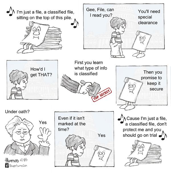 """I'm Just a File, a Confidential File…"" (1.31.2016)"