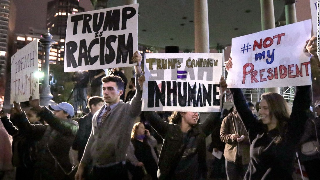 Why I Think the Anti-Trump Protests are Wrong