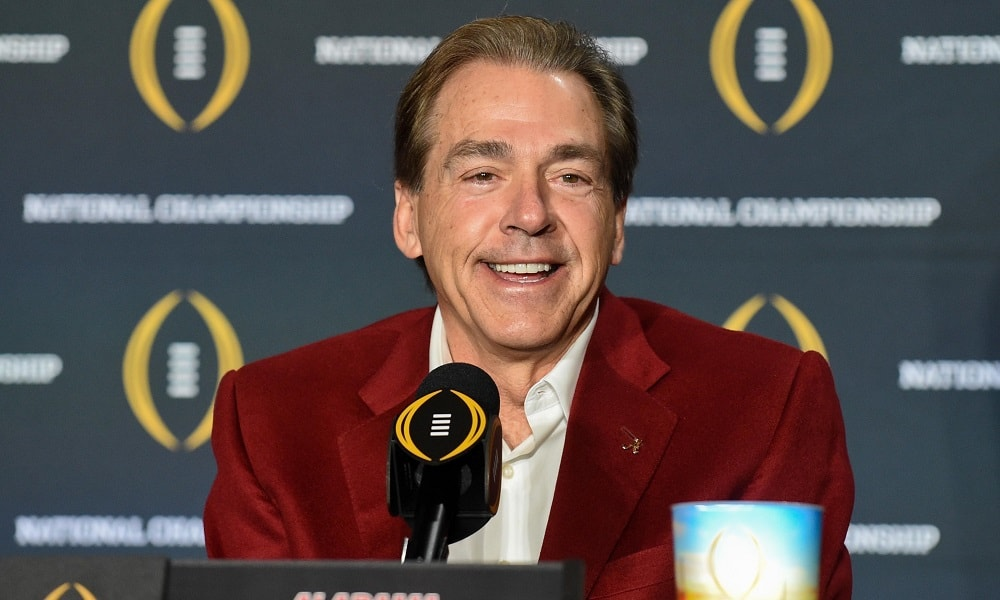 Nick Saban Rants about Summer Camps but it's Really all about being a Libertarian