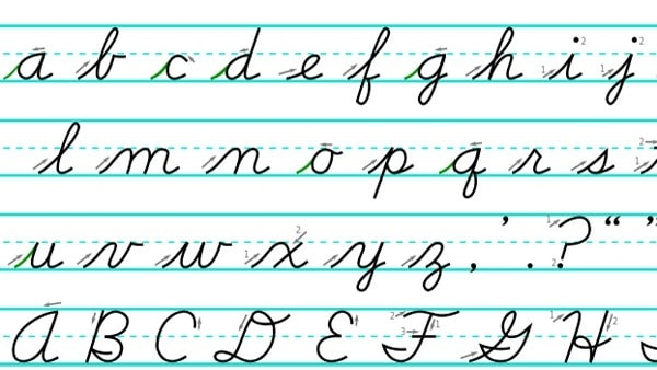 Why Should the Government Mandate Cursive Writing in Schools?