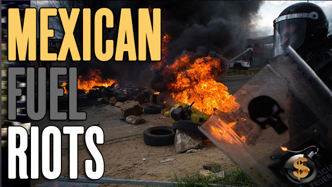 Mexico Gas Protests, Peso Collapsing, Bitcoin Skyrocketing