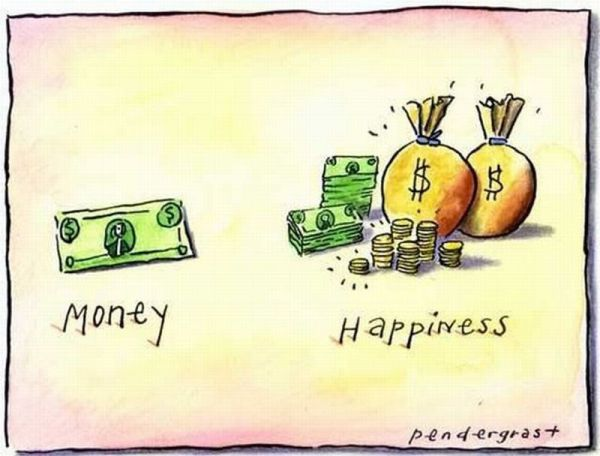 Exit strategy, making money and being happy