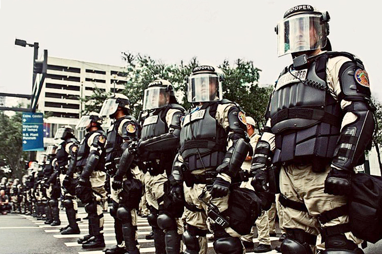 The Authoritarian Origins of Policing in America