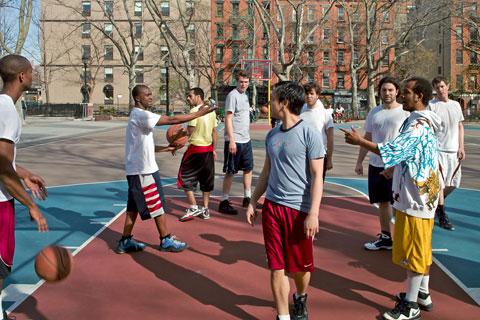 The Beautiful Anarchy of Pickup Basketball
